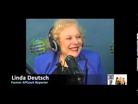 Linda Deutsch, Associated Press Court Reporter with Ana Garcia & Dorothy Lucey