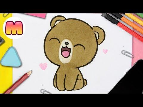 como-dibujar-un-oso-kawaii---dibujos-kawaii-fáciles---como-dibujar-animales-kawaii