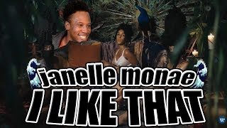 JANELLE MONAE - I LIKE THAT [OFFICIAL MUSIC VIDEO] REACTION/REVIEW