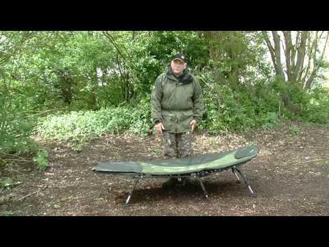 JRC X-Lite 3 Leg Bedchair Product Demo - Carp Fishing, Angling, Bed Chair