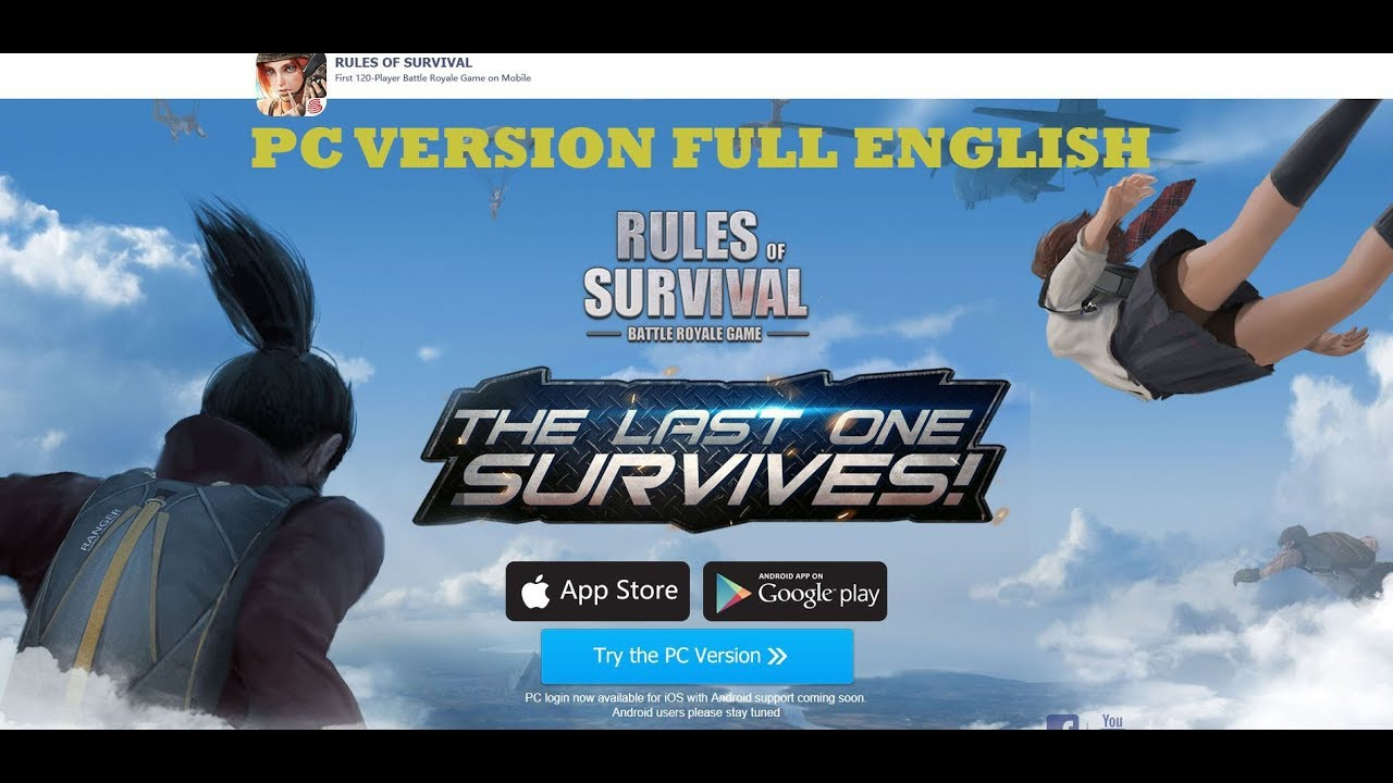 rules of survival network error