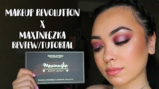 NEW Makeup Revolution x Maxineczka Beauty Legacy Palette Review/Tutorial