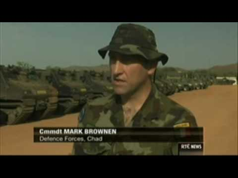 Irish Special Forces, Elite Army Ranger Wing in Chad, RTÉ News