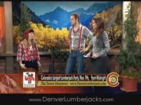 Denver Lumberjack Party Channel 9 Interview