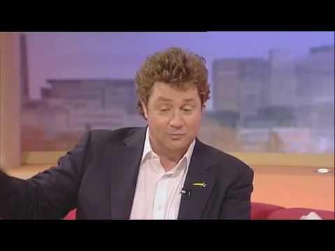 SEXY LORRAINE KELLY TALKS TO SINGER MICHAEL BALL