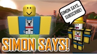 ROBLOX JAILBREAK SIMON SAYS! - LIVE