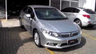 Honda New Civic LXS 1.8 16v (Flex)  2012