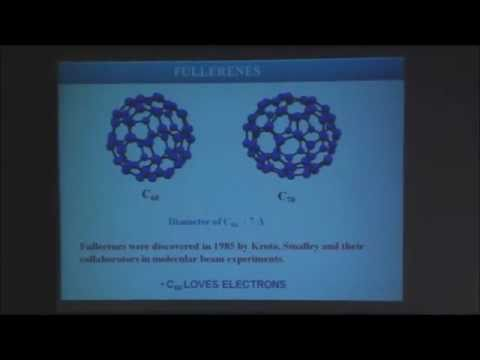 Prof. C.N.R. Rao on nanocarbons -WIN Distinguished Lecture Series
