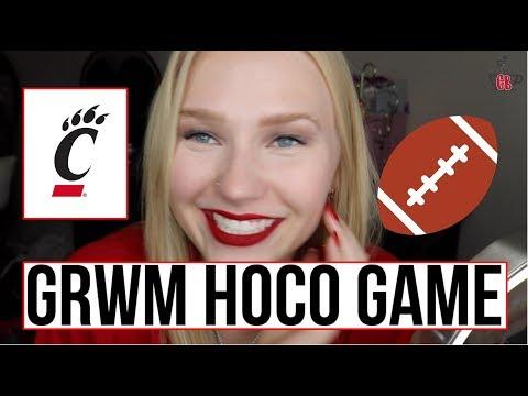 GRWM HOMECOMING GAME 2017 | University of Cincinnati