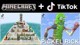 The Funniest & Coolest Tik Tok Minecraft Videos Compilation! (Part 16)