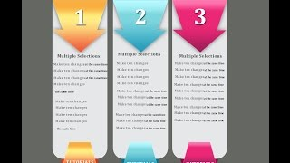 شرح عمل انفو جرافيك احترافي بالفوتوشوب Info graphic banner style photoshopcs6 II