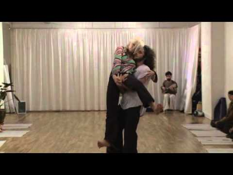 unseeing dance Contact Improvisation performance Studio Keller paris 26/10/2013