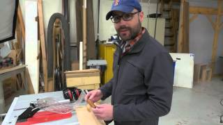 The Bosch Reaxx tablesaw comes to Fine Woodworking