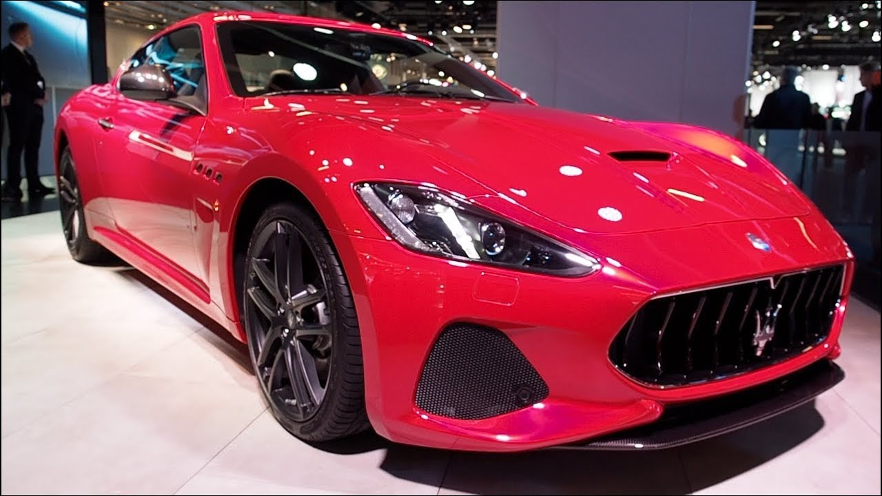 the all new maserati granturismo mc 2018 in detail review walkaround interior exterior youtube. Black Bedroom Furniture Sets. Home Design Ideas