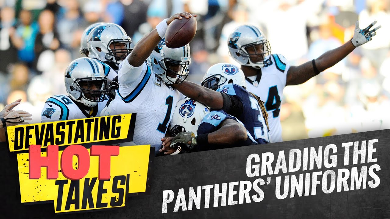 1d58bb53d Grading The Carolina Panthers  Uniforms - YouTube