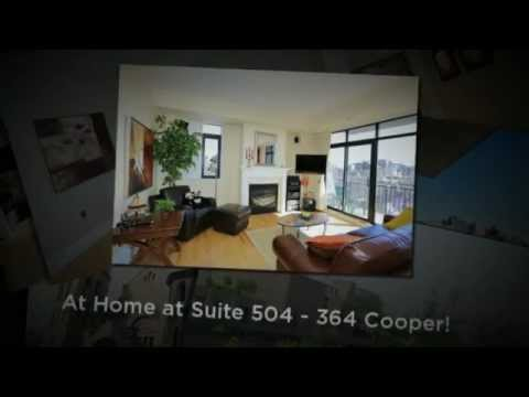 504-364 Cooper St Ottawa - Stunning 2 Bedroom Downtown Condo for sale! Walk to everything!