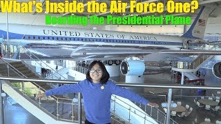 Boarding the Airplane of the President of the United States of America! The US Air Force One