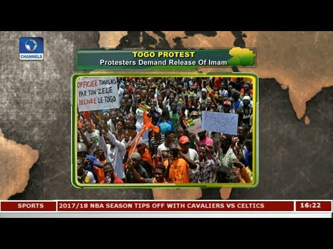 Togo Protesters Demand Release Of Imam |Network Africa|
