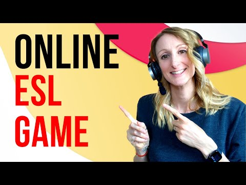 Online ESL Games For Young Learners