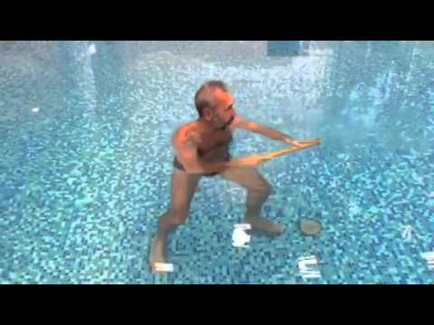 Тайчи в воде.Флейта  8 бессмертных
