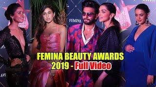 UNCUT - Femina Beauty Awards 2019 | Full Video | Deepika-Ranveer, Sara Ali Khan, Taapsee Pannu