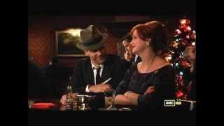Don Draper and Joan Harris