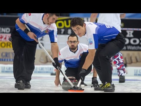 CURLING: CZE-CAN World Men's Chp 2015 Draw 6 - HIGHLIGHTS