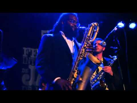 "Jason Marshall, Baritone Sax - ""Cherokee"" (Montreal Jazz Festival, 28 June 2010) - Pepper Adams Jazz"