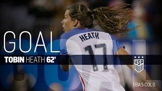 WNT vs. Colombia: Tobin Heath Goal - April 6, 2016