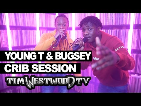 Young T & Bugsey freestyle - Westwood Crib...