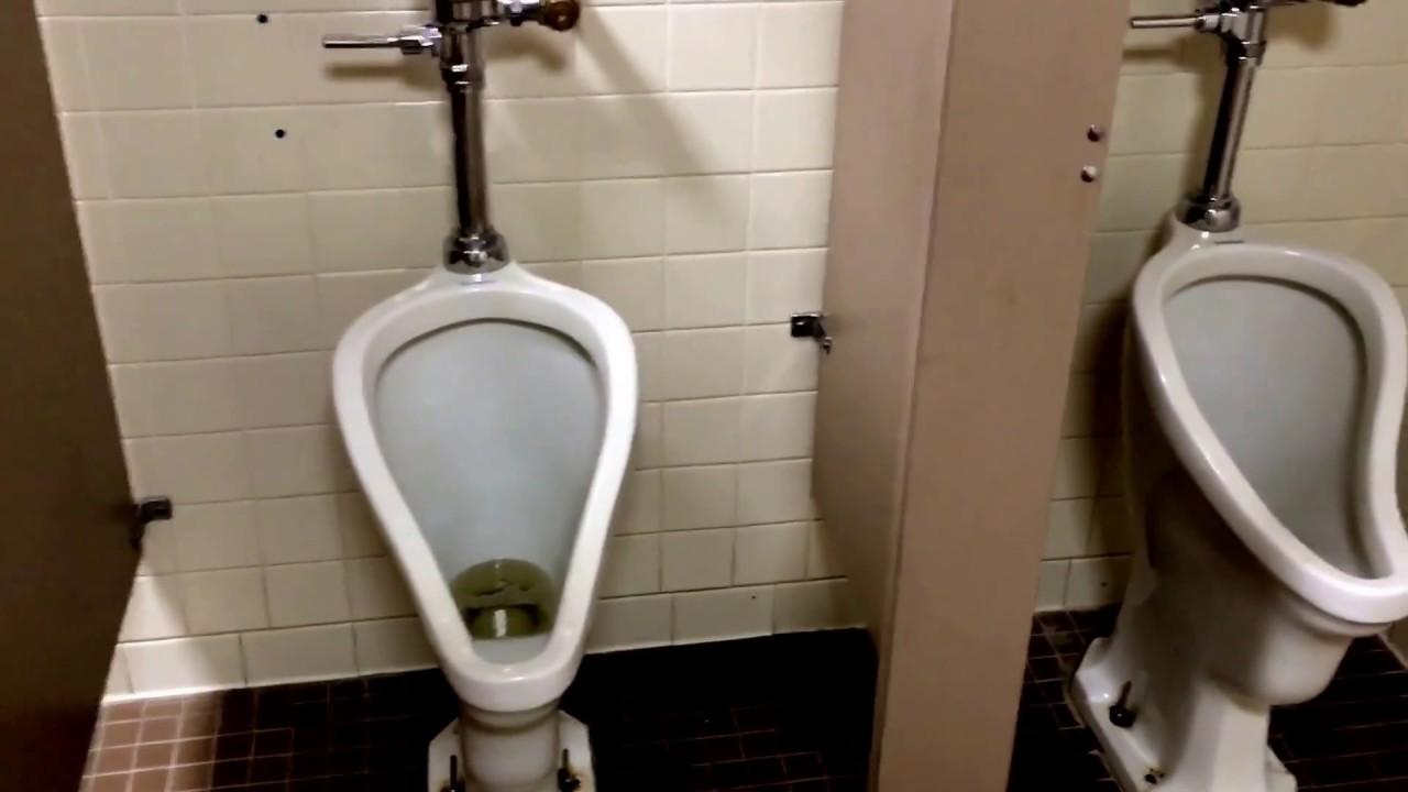Vintage American Standard Urinals old Kodak Plant Chamblee GA - YouTube