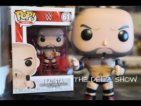 DAVE BATISTA Brand New in Box Funko-Pop WWE
