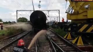 Tren de marfa deraiat la Tandarei