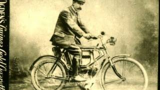 World's 1st Motorcycle Ever Made & 1902 Motor Cycle Ogden's Cigarette Cards