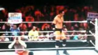 CM Punk VS. Wead Berret and John Cena