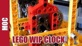 Lego 3 Handtechnic Clock - Wip