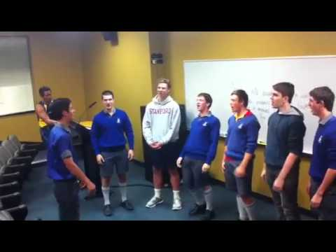 Churchie boys sing Samoa