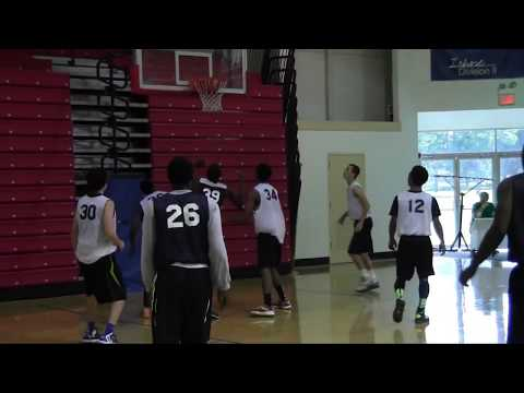 Zach Brown #39 - 7'0 Freshman Highlights from Nike Team Florida Workout!!!