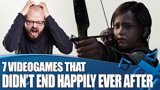 7 Times Videogames Didn't End Happily Ever After