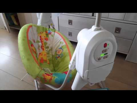 Fisher Price Automatic Baby Swing BFH05-986E Review