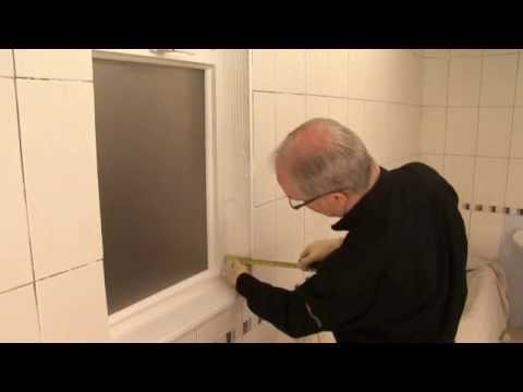 How To Tile Around A Window With Wall Tiles Youtube