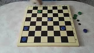 Настольные игры. Урок 64. Русские шашки Самоеды. Тактика
