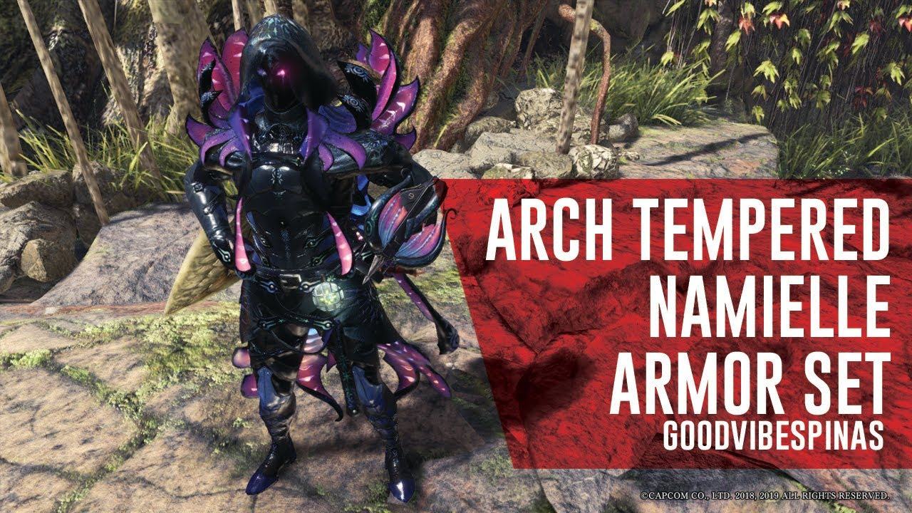 Arch Tempered Namielle And New Layered Armor Sets Youtube Read this monster hunter world: arch tempered namielle and new layered