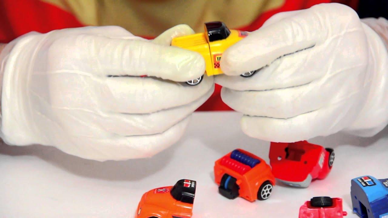 КЛОУН ДИМА - смешные видео для детей, игрушечные машинки, цифры и цвета учит с вами