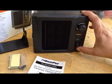 12 Volt Ceramic Car Fan Heater Doovi
