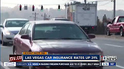 Study: Car insurance rates in Las Vegas valley increased 31 percent since 2011
