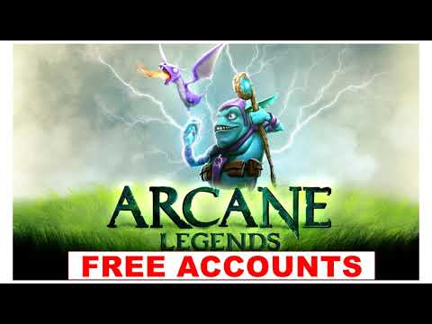 Arcane Legends Free Account 2019 Free Account 2019 | Update Daily