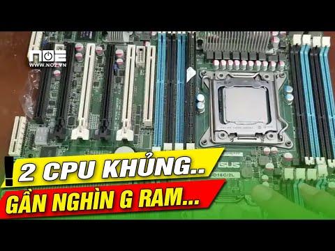 2CPU VÀ 256G RAM main  khủng vậy có nên dùng