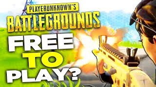 PUBG for FREE? Fortnite Battle Royale is Free to Play!