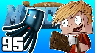 "Minecraft: HOW TO MINECRAFT! ""The Squid Aquarium!"" Episode 95 (Minecraft 1.8 SMP)"